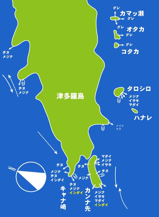 104 津多羅島Ⅱ(富江町):大和
