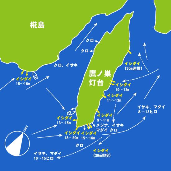 151 椛島・鷹ノ巣灯台:せいわ,航輝