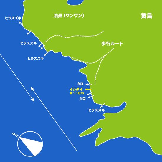 212 黄島・泊鼻(ワンワン):おうしま